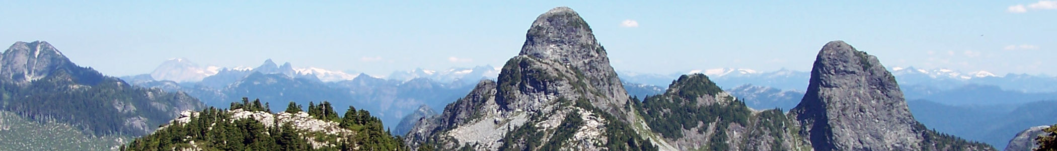 The Lions peaks (British Columbia)